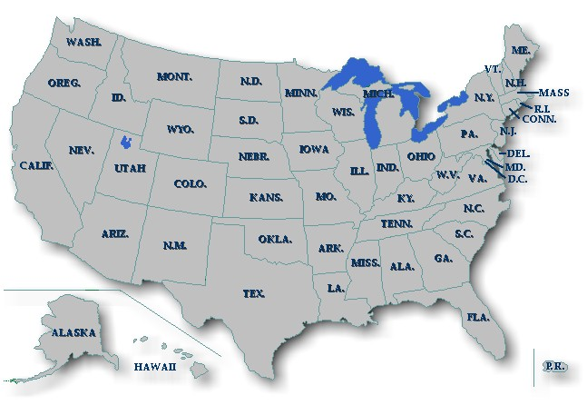 Maps Usa Map Road - Us map ohio